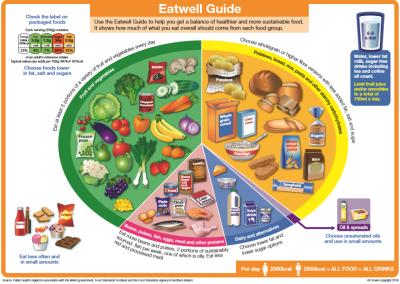 Eatwell Guide 2018